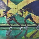 Usain Bolt and Cedella Marley Showcase Olympic Wear