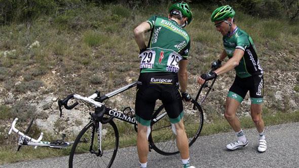 Tacks On Road Tour De France
