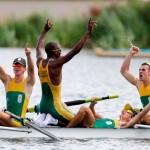 Praise for Team SA 3rd gold