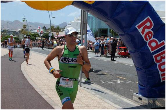 Bert Jammaer - Double Lanzarote Ironman winner 2008 - 2009