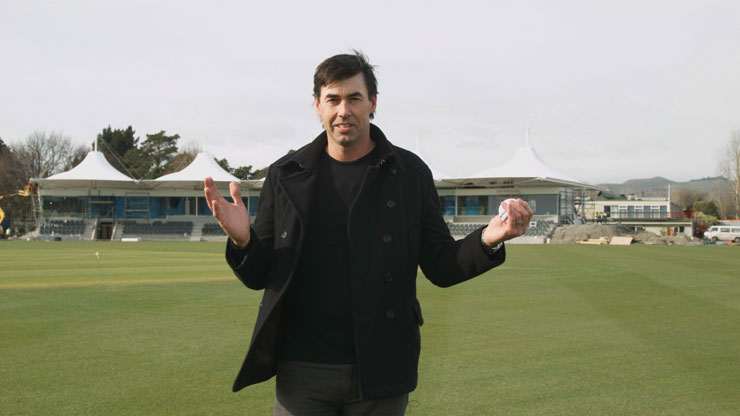 stephen fleming - hagley oval