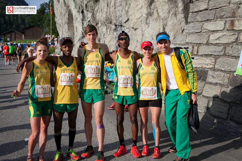 Team SA - Zermatt Marathon