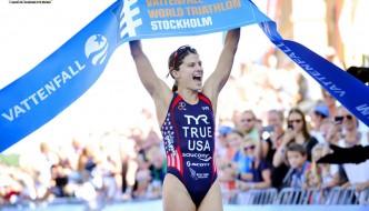 Sarah True defends ITU Stockholm title