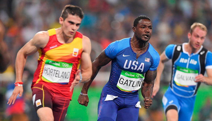 Justin Gatlin to run at Athletix Grand Prix