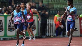 Jobodwana Shows Form at Athletix  Meeting
