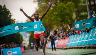 Gachaga defends Cape Town ONERUN title
