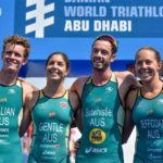 Aussies win Mixed Relay in Abu Dhabi