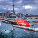 New Zealand launches new America's Cup boat